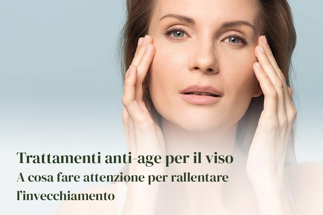 Routine anti age lepo cosmetici