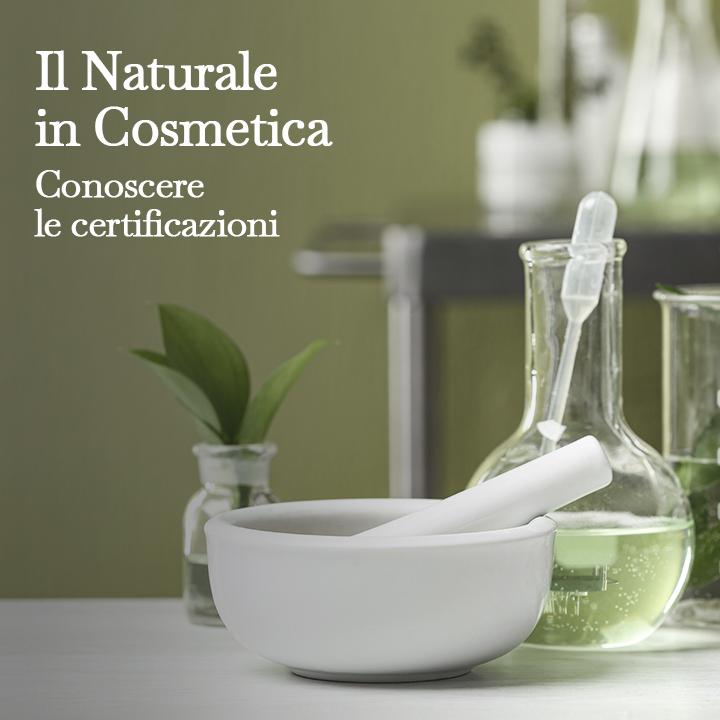 Il naturale in cosmetica conoscere le certificazioni